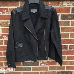 Patterson J Kincaid Genuine Leather Moto Jacket